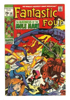 Fantastic Four 89 SC | eBay