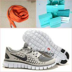 Mens Nike Free Run Grey Black Shoes $ 53.99