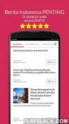 SPOT News   Berita Keren  Android App - playslack.com , ★★★★★ Award winning Nasional News app of the year 2015.★★★★★ The first and only Indonesian news app that allows you to enjoy latest news in Indonesian and English.Download SPOT News   Berita Terkeren Indonesia now & keep tab on the latest news, lokal news berita nasional and other news.⊲ If you love politiks, bisinis, bola, otomotif, internasional news or berita nasional from publications such as Detik, Sindo News, VivaNews…