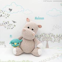 Mesmerizing Crochet an Amigurumi Rabbit Ideas. Lovely Crochet an Amigurumi Rabbit Ideas. Crochet Hippo, Crochet Animal Amigurumi, Crochet Animal Patterns, Amigurumi Toys, Stuffed Animal Patterns, Crochet Animals, Amigurumi Patterns, Free Crochet, Crochet Cats