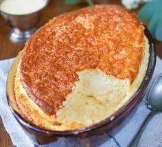 Comté cheese soufflé