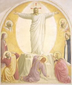 Guido di Pietro (Fra Angelico) - The Transfiguration; Museo di San Marco dell'Angelico, Florence, Italy; 15th century
