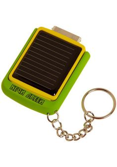 """You've Got the Power"" Solar iPhone Charger.... Will someone buy me this pweeze"
