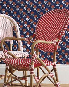 $245 Riviera Armchair   Classic 1930s European Bistro Chair, Reinterpreted.  Handcrafted Of Sustainable Rattan