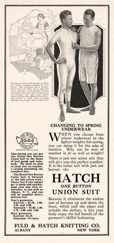 The Irreverent Psychologist — Changing to your spring underwear? Try the hatch.