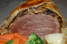 I made this for a dinner party many years ago and it was absolutely delicious. I made it again last week. This is the best beef Wellington I have tasted.