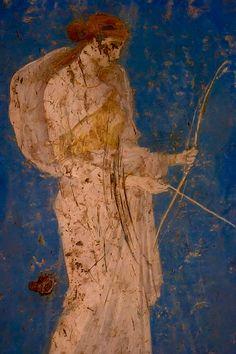 Artemis, fresque de Pompéi