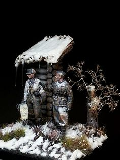 resin kit Alpine miniatures // paint in acrylics Military Figures, Military Diorama, Military Modelling, Ww2 Tanks, German Army, Reference Images, Toy Soldiers, Art Model, Figure Painting