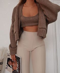 Cute Comfy Outfits, Classy Outfits, Stylish Outfits, Mode Outfits, Fall Outfits, 40s Mode, Teen Fashion, Fashion Outfits, High Fashion