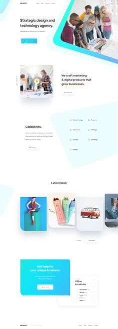 Advantis — Homepage / KREATIVA Studio