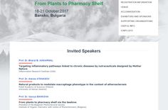 "Natural Products Utilization International Conference ""From Plants to Pharmacy Shelf"" (October 2017)   http://healthandscienceportal.blogspot.co.at/2017/02/natural-products-utilization.html  #HealthAndScienceP #Ethnopharmacology #Health"
