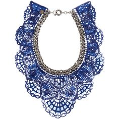 + Annelise Michelson gunmetal-tone and coated lace necklace and other apparel, accessories and trends. Browse and shop 8 related looks.