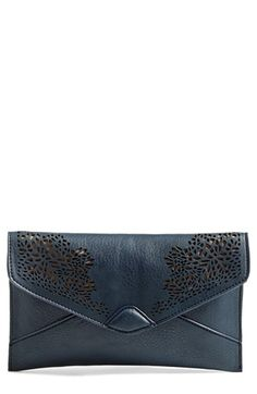 Danielle+Nicole+Danielle+'Adeline'+Laser+Cutout+Clutch+available+at+#Nordstrom