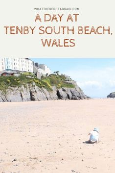 A Day at Tenby South Beach - What the Redhead said Beautiful Places To Visit, Beautiful Beaches, Cool Places To Visit, Days Out With Kids, Family Days Out, Best Uk Beaches, Holidays In Cornwall, Park Resorts, North Beach