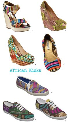 African Print Shoes | Find the Latest News on African Print Shoes at Tiger Tem's Fashion Bites