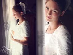 The look of a virgin on her wedding day. Utah Wedding Photographers, Portrait Photographers, 19 Kids And Counting, Amish Country, Groom, Wedding Day, Wedding Photography, Bride, Wedding Dresses