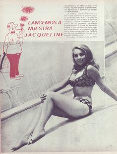 La juvenil diva del cine mexicano de los 60s ; Jacqueline Andere.