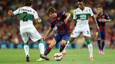 Sergi Roberto - FC Barcelona - Elx (3-0) | FC Barcelona