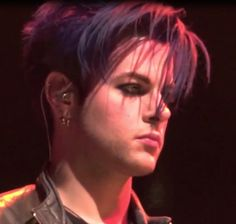 Tommy Joe Ratliff....with the blue/purple hair color shade my mom and I fight over.