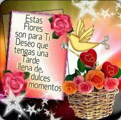 Estas flores son para ti