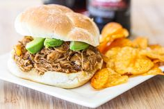 root beer pulled chicken-5735