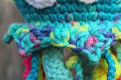 Háčkovaná chobotnička - návod - MoVe materiál Friendship Bracelets, Diy Crafts, Make Your Own, Homemade, Craft, Friend Bracelets, Diy Artwork, Diy Crafts Home