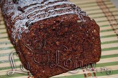 Chec cu nuca si scortisoara, de post No Cook Desserts, Vegan Desserts, Vegan Recipes, Cooking Recipes, Loaf Cake, Pastry Cake, Chocolate Lovers, Coco, Deserts