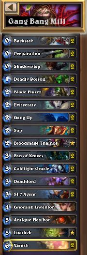 Yo dawg I heard you like grinding. Now while you're grinding the ladder you can grind the ladder. DECKLIST  This deck is not quick to legend material. Every now and then it draws dead and it can struggle hard against certain match-ups, but when it goes right it goesso right. Each match up is di...