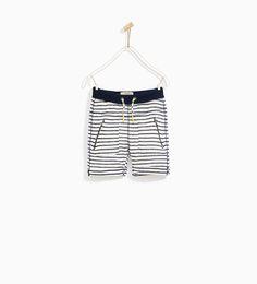 45ba77cd970 ΡΙΓΕ ΒΕΡΜΟΥΔΑ Zara Boys, Boys Wear, Zara United States, Boy Shorts, Boy