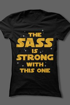 ♥ this sassy Star Wars shirt!