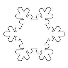 Kar tanesi şablonu - Craft for Boys Snowflake Stencil, Paper Snowflakes, Snowflake Pattern, Boy Coloring, Coloring Pages For Boys, Winter Crafts For Kids, Crafts For Boys, Christmas Sewing, Christmas Crafts
