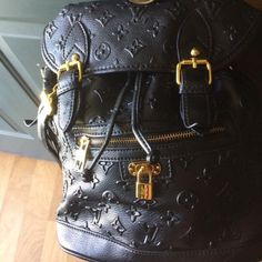 Leather backpack Like new. Re-poshing. Gorgeous backpack. *Read my profile* Bags Backpacks