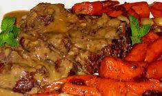 Slow Cooked Roast With Creamy Mushroom Gravy