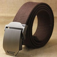 Hot Men Canvas Outdoor Belt Military Equipment Cinturon Western Strap Men'S Belts Luxury For Men Tactical Brand Cintos
