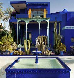 Casa de YSL en Marruecos