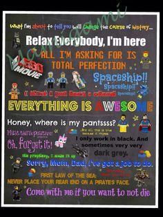 The+Lego+Movie++Subway+Art+wall+decor+by+Mamigami+on+Etsy,+$15.00