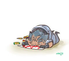 I keep imagining a very tired Shepard giving Grunt crayons to keep him entertained. At least until his big boy mission. Mass Effect Grunt, Mass Effect Funny, Mass Effect 3, Thane Krios, Mass Effect Universe, Commander Shepard, Dragon Age, Art Blog, Video Games