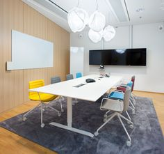 Ernst & Young Office Interior Design, Office Interiors, Office Meeting, Meeting Rooms, Office Furniture, Office Decor, Conference Table, Commercial Design, Room Chairs