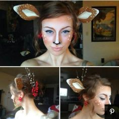 Cute deer - idea for couple costume - deer and hunter