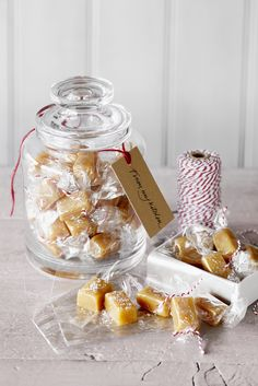 Salted caramels, great Christmas present idea!