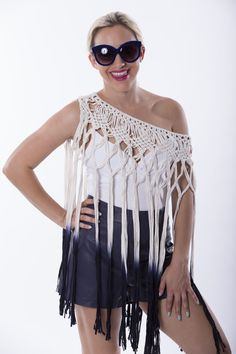 Crochet Cover Up, Collection, Tops, Dresses, Fashion, Fashion Styles, Shell Tops, Dress, Fashion Illustrations