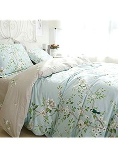 floral bed sheet set cotton bedsheet twin size fadfay sisbay french lucky tree bedding set queen for girlsshabby chic duvet cover flower print