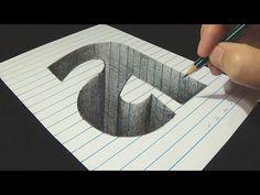 50 Best 3d art on paper images in 2019 | Drawings, Art, Art