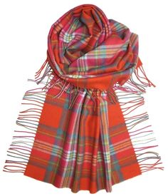 This shawl is various bright check designs. 100% Lambsool. Shawl dimensions: 140 x 76cms (includes rope fringing). Dry clean only.,appletreehall, lambswool, stole, long scarf, pashmina, large scarf, scar, stol, wide, scarf, scarves, shawl, wrap, caterpillar, ladies, womens, fine, wool, purple, tartan, bright, colours, bright, tartan