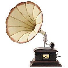 Old Modern Handicrafts AJ013 1911 Monarch Model V HMV Gramophone in Cream