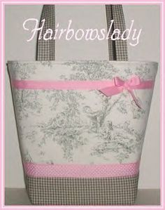 Sage Diaper Bag Tote Central Park Olive Green by hairbowslady, $65.00 Love toile! Wish the pink was purple and the olive green was gray...