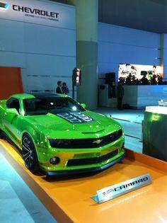 Chevy Camaro Hot Wheels Concept #cias12 via @HotWheelsCanada