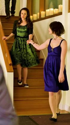 Alice Cullen with Bella Swan at house party.