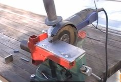 Grinder Mounting Bracket by The Fe Factor -- Last summer I've made, in my opinion, useful bracket for my Kobalt angle grinder after using it for a few months I made a small modification I would be interested to know if you see any Pro & Cons P.S. This is my first post in this...