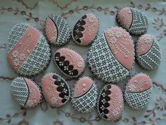 Easter Cookies, Holiday Cookies, Royal Icing Cookies, Sugar Cookies, Elegant Cookies, Faberge Eggs, Cookie Designs, Themed Cakes, Cookie Decorating